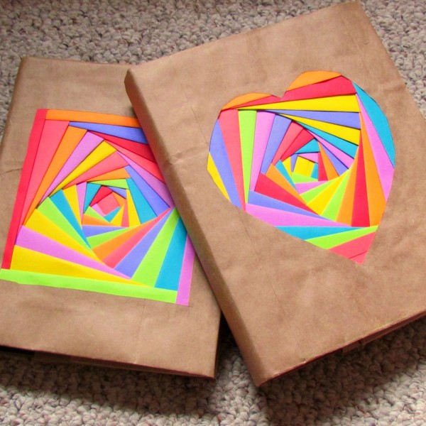 Book Cover Ideas For School : Fun to make back school crafts