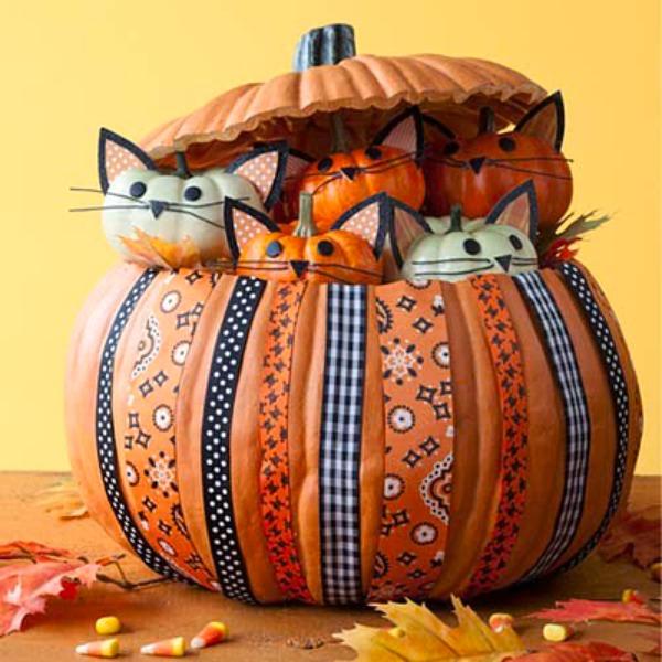 9 Amazing No-Carve Pumpkin Ideas! - photo#15
